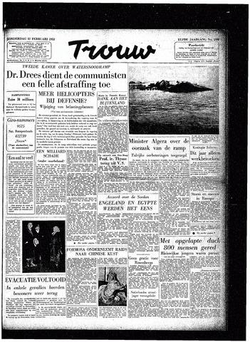 Trouw / De Rotterdammer 1953-02-12