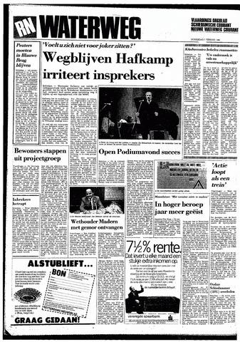 Rotterdamsch Nieuwsblad / Schiedamsche Courant / Rotterdams Dagblad / Waterweg / Algemeen Dagblad 1985-02-07