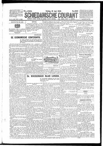Schiedamsche Courant 1933-06-16