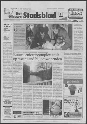 Het Nieuwe Stadsblad 2001-03-21
