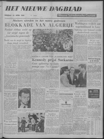Nieuwe Schiedamsche Courant 1961-04-25