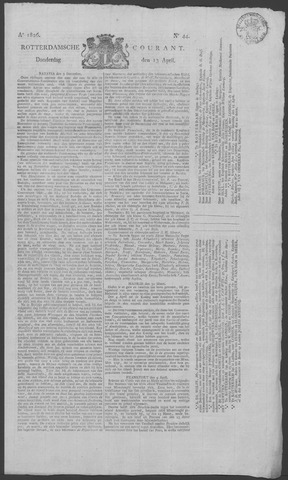Rotterdamse Courant 1826-04-13