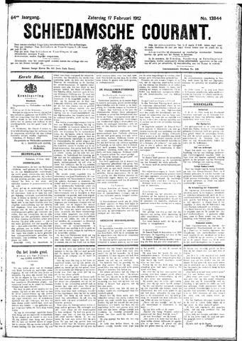 Schiedamsche Courant 1912-02-17