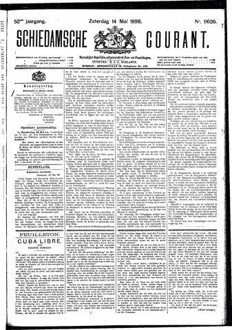 Schiedamsche Courant 1898-05-14