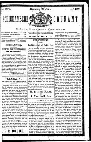 Schiedamsche Courant 1879-06-23
