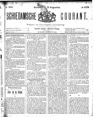 Schiedamsche Courant 1885-08-13