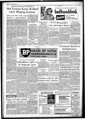 Rotterdamsch Parool / De Schiedammer 1961-01-05