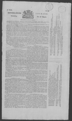Rotterdamse Courant 1841-03-27