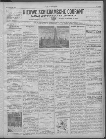 Nieuwe Schiedamsche Courant 1932-07-22