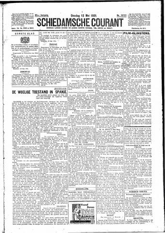 Schiedamsche Courant 1931-05-12