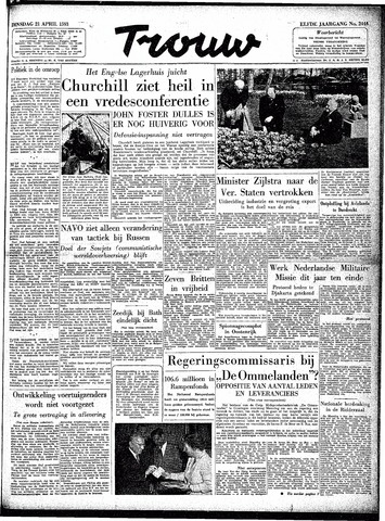 Trouw / De Rotterdammer 1953-04-21