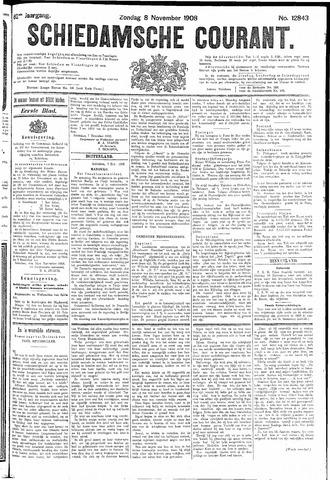Schiedamsche Courant 1908-11-08