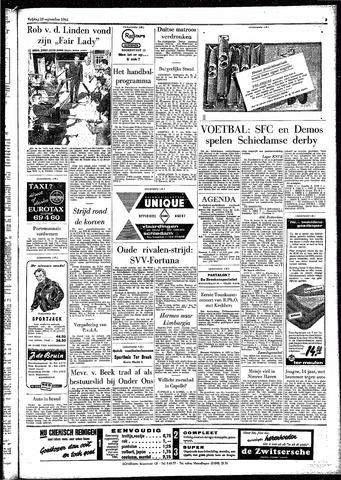 Rotterdamsch Parool / De Schiedammer 1961-09-22