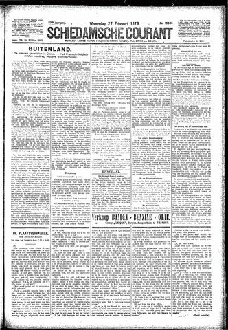 Schiedamsche Courant 1929-02-27