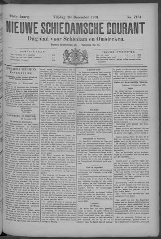 Nieuwe Schiedamsche Courant 1901-12-20