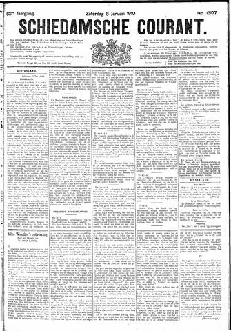 Schiedamsche Courant 1910-01-08