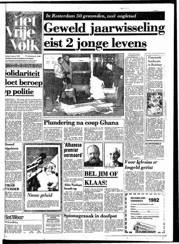 Het Vrije volk 1982