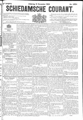 Schiedamsche Courant 1908-11-21