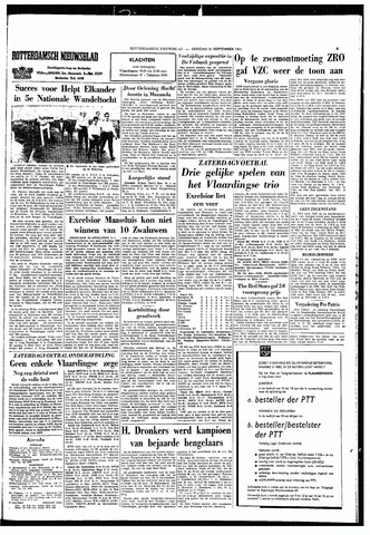 Rotterdamsch Nieuwsblad / Schiedamsche Courant / Rotterdams Dagblad / Waterweg / Algemeen Dagblad 1965-09-21