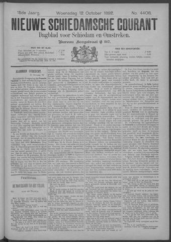 Nieuwe Schiedamsche Courant 1892-10-12