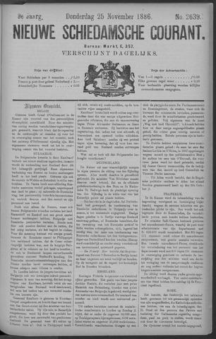 Nieuwe Schiedamsche Courant 1886-11-25