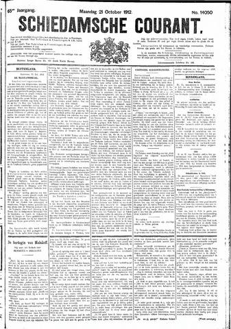 Schiedamsche Courant 1912-10-21