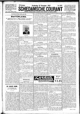 Schiedamsche Courant 1927-12-22