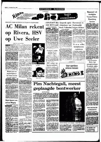 Rotterdamsch Parool / De Schiedammer 1968-05-22