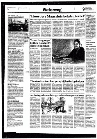 Rotterdamsch Nieuwsblad / Schiedamsche Courant / Rotterdams Dagblad / Waterweg / Algemeen Dagblad 1993-08-24