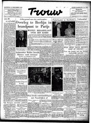 Trouw / De Rotterdammer 1953-12-12