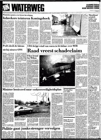 Rotterdamsch Nieuwsblad / Schiedamsche Courant / Rotterdams Dagblad / Waterweg / Algemeen Dagblad 1991-01-29