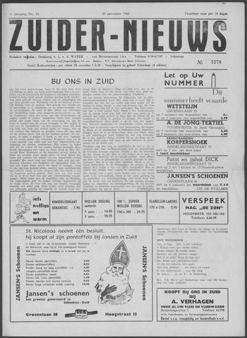 Zuider Nieuws 1962-11-29