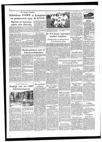 Rotterdamsch Parool / De Schiedammer 1955-05-23