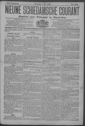 Nieuwe Schiedamsche Courant 1909-05-01