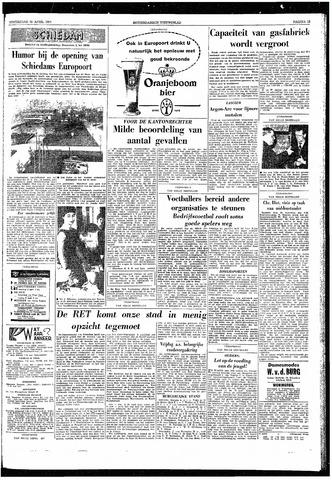 Rotterdamsch Nieuwsblad / Schiedamsche Courant / Rotterdams Dagblad / Waterweg / Algemeen Dagblad 1959-04-23