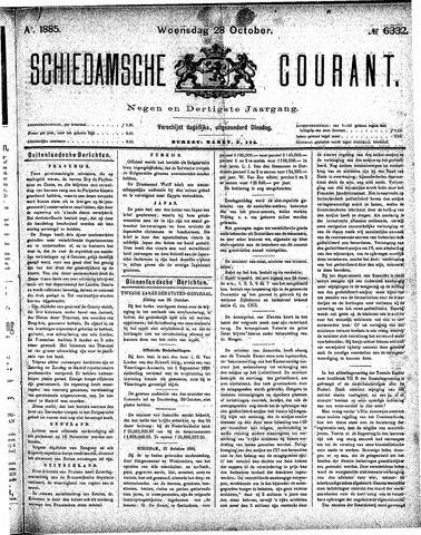 Schiedamsche Courant 1885-10-28