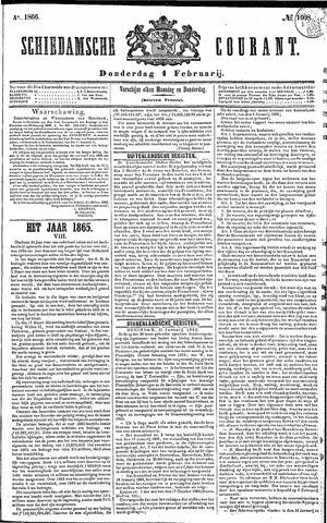 Schiedamsche Courant 1866-02-01