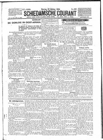 Schiedamsche Courant 1935-10-22