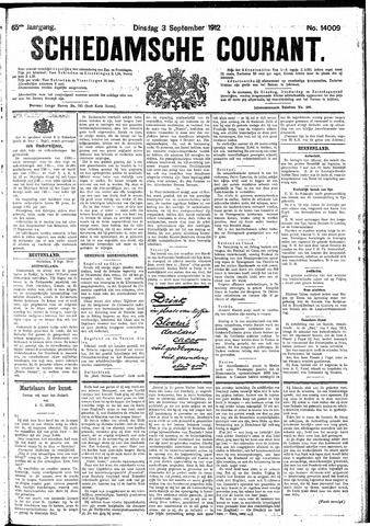 Schiedamsche Courant 1912-09-03