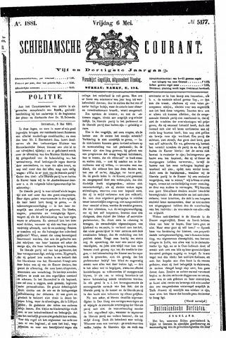 Schiedamsche Courant 1881-05-06