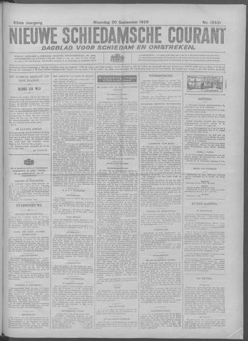 Nieuwe Schiedamsche Courant 1929-09-30
