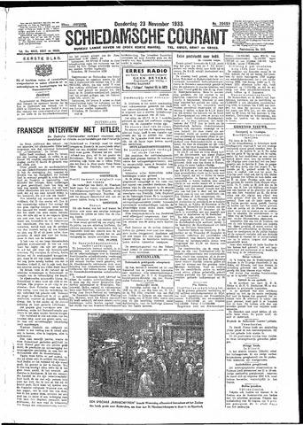 Schiedamsche Courant 1933-11-23