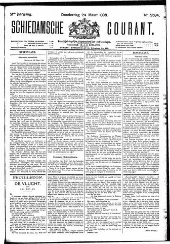 Schiedamsche Courant 1898-03-24