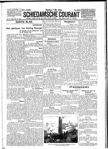 Schiedamsche Courant 1935-05-07