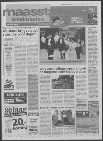 Maaspost / Maasstad / Maasstad Pers 2005-07-06