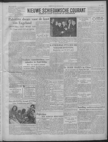 Nieuwe Schiedamsche Courant 1949-01-27