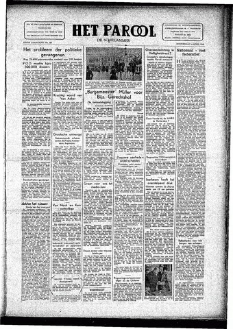 Rotterdamsch Parool / De Schiedammer 1946-04-04