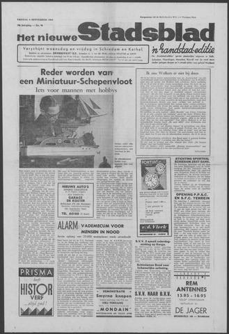 Het Nieuwe Stadsblad 1964-09-04