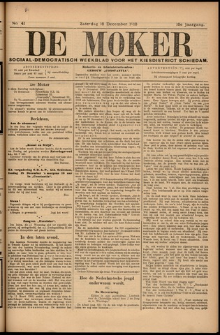 De Moker 1910-12-10