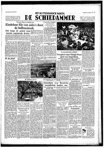 Rotterdamsch Parool / De Schiedammer 1949-04-19